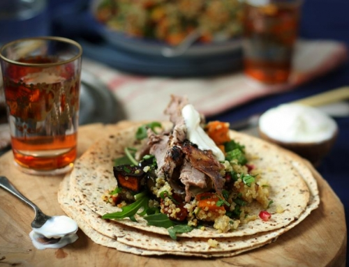 Australia's Own Organic Wrap with Lamb & Quinoa