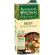 Organic Beef Style Stock