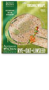 Rye Oat Linseed Wraps